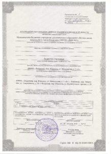 Лицензия прил.1
